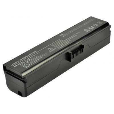2-power batterij: Li-Ion, 14.4V, 5200mAh - Zwart