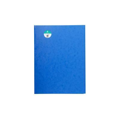 Exacompta map: Stofklepmap Nature Future A4, 400 g/m², blauw (verpakking 25 stuks)