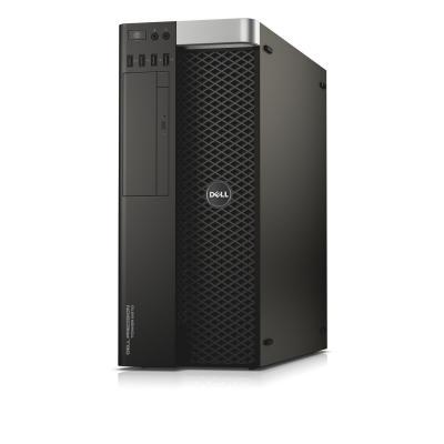 Dell pc: Precision T5810 - E5 1650 - 16GB RAM - 256GB SSD + 1T - Zwart