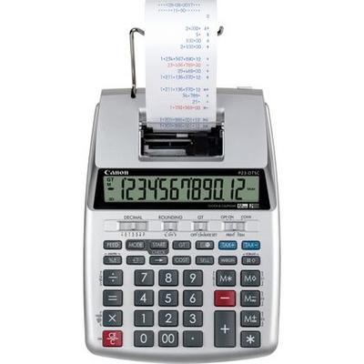 Canon P23-DTSC Calculator - Zilver