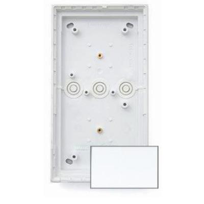 Mobotix T24M\Triple On-Wall mount Pure White Elektrische aansluitkast - Wit