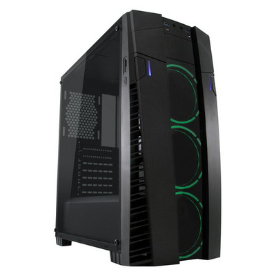 LC-Power Gaming 992B - Solar Flare Behuizing - Zwart