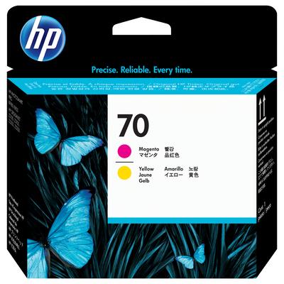 HP 70 Printkop - Magenta, Geel