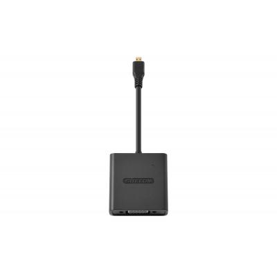 Sitecom kabel: CN-355 Micro-HDMI to VGA + Audio Adapter