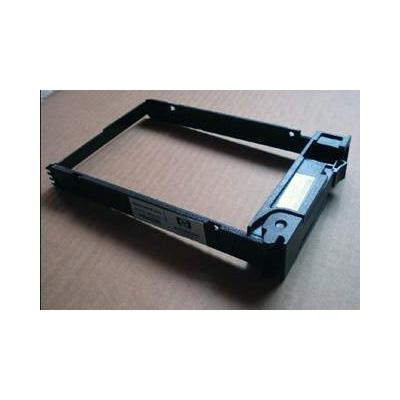 Hewlett Packard Enterprise Hard drive carrier - for use in Micro servers Montagekit - Zwart