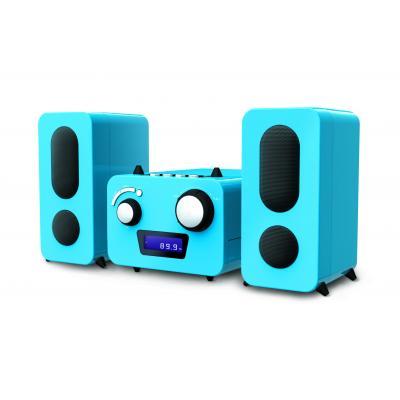 Bigben interactive reciever: Big Ben, HiFi Micro System CD / Radio (Blauw)