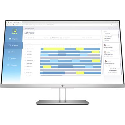 HP EliteDisplay E273d Monitor - Zwart, Zilver - Demo model