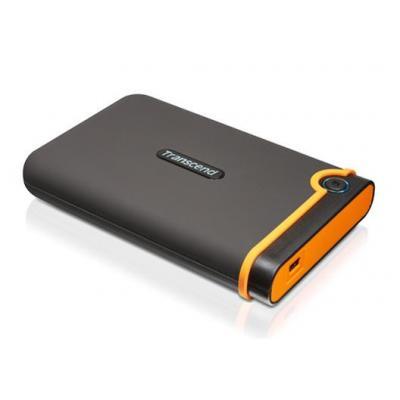 """Transcend interne harde schijf: StoreJet StoreJet HDD 750GB 2.5"""" USB2 MobileBlack - Bruin"""