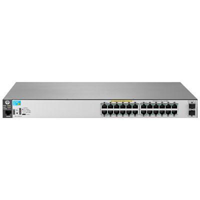 Hewlett Packard Enterprise 2530-24G-PoE+-2SFP+ Switch - Roestvrijstaal