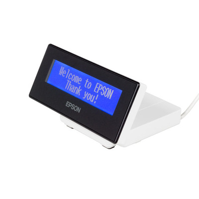 Epson DM-D30 (101): Customer Display for TM-m30 White Paal display - Wit