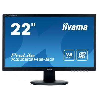 """Iiyama ProLite X2283HS-B3 21,5"""" Full HD VA - Desktop Monitor - Zwart"""