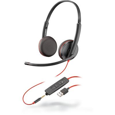 POLY Blackwire C3225 Headset - Zwart
