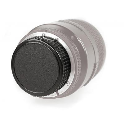 Kaiser fototechnik lensdop: Rear lens cap for Olympus OM - Zwart