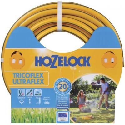 Hozelock tuinslang: Tricoflex Ultraflex slang Ø 12.5 mm 15 meter - Grijs, Geel