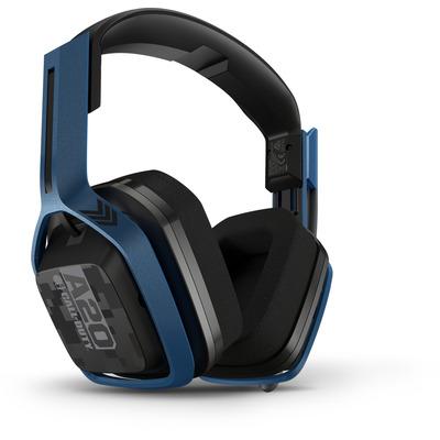 Logitech A20 Headset - Blauw, Grijs
