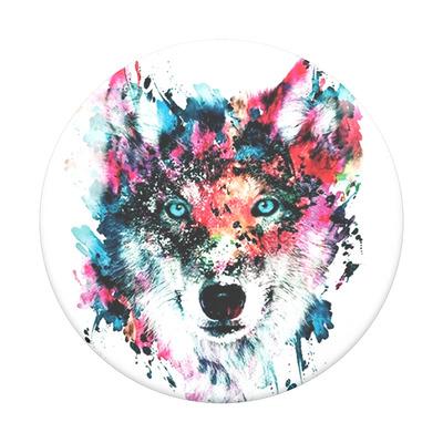 PopSockets Wolf Houder - Multi kleuren