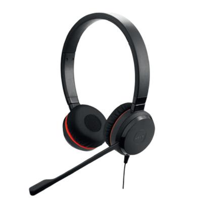 Jabra Evolve 20SE MS Stereo headset - Zwart