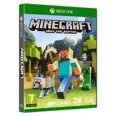 Microsoft game: Minecraft  Xbox One