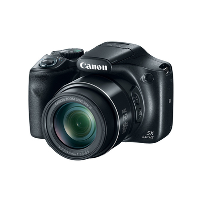Canon digitale camera: PowerShot SX540 HS - Zwart
