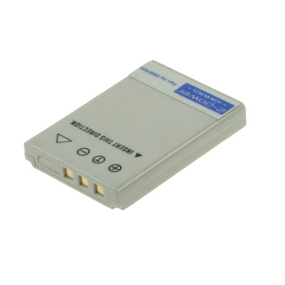 2-Power Digitale Camera Accu 3,7V 650mAh - Grijs