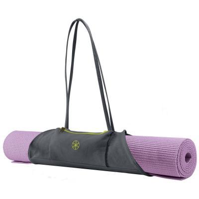Gaiam fitness, gymnastiek & gewichtstraining: Yoga Mat Draagtas - Citron  /  Storm