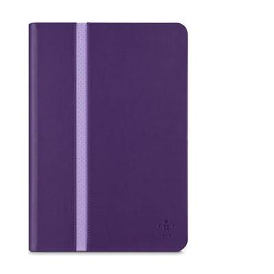 Belkin tablet case: iPad Mini Cinema Stripe Cover Purple - Paars