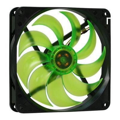 Nanoxia Hardware koeling: CoolForce - Zwart, Groen