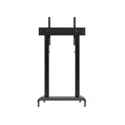 Multibrackets M Stand 180 HD mobile - Dual Pillar TV standaard - Zwart