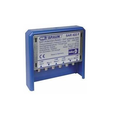 Spaun SAR 422 WSG Kabel splitter of combiner - Blauw, Zilver