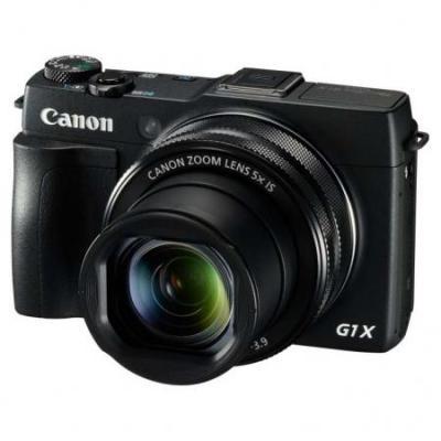 Canon digitale camera: PowerShot G1 X Mark II - Zwart