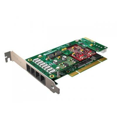 Hewlett packard enterprise voice network module: Sangoma 4-port FXO Telephony Card