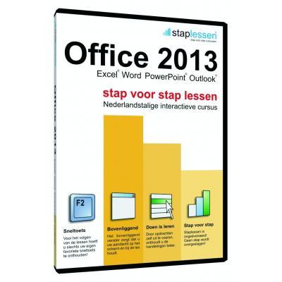 Shareart educatieve software: Staplessen, Office 2013 NL