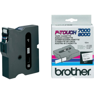 Brother TX-241 labelprinter tape
