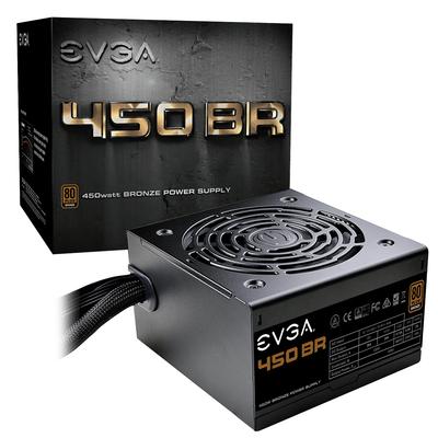 EVGA 450 BR Power supply unit - Zwart