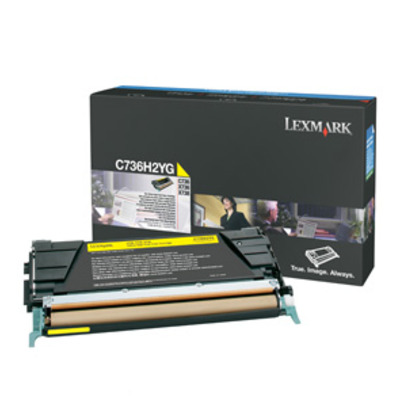 Lexmark C736H2YG cartridge