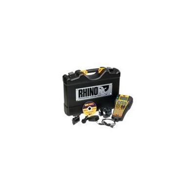 Dymo labelprinter: RHINO 6000 Hard Case Kit - Zwart, Geel