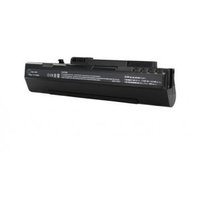 Acer batterij: 6 Cell - Zwart