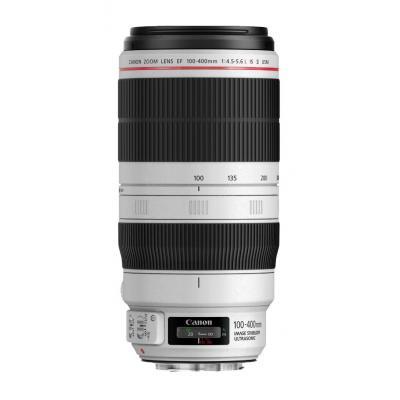 Canon camera lens: EF 100-400mm f/4.5-5.6L IS II USM - Zwart, Wit