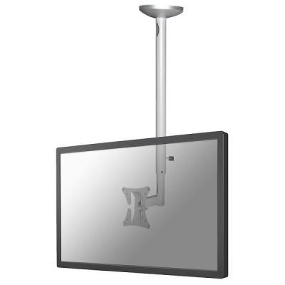 Newstar flat panel plafond steun: flatscreen plafondsteun - Zilver