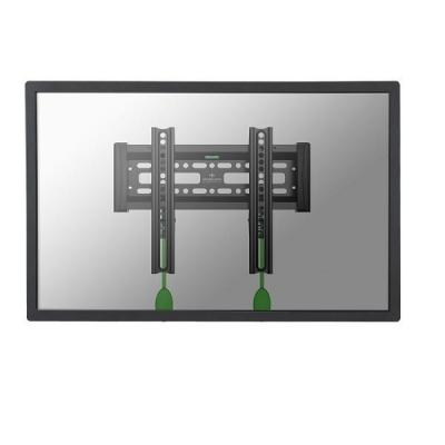 """Newstar montagehaak: De NM-W120BLACK is een vlakke wandsteun voor flat screens t/m 40"""" (100 cm) - Zwart"""