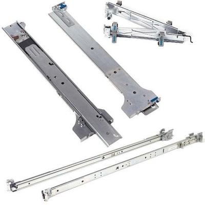 Dell rack toebehoren: 2/4 -Post Static Rack Rails - Kit - Zilver