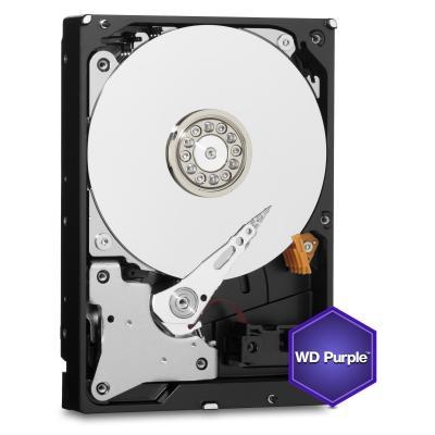 Western digital interne harde schijf: Purple 2TB