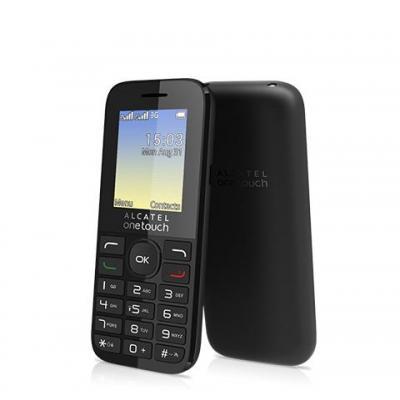 Alcatel mobiele telefoon: 20.35 - Zwart