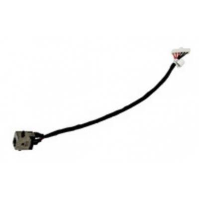 Asus notebook reserve-onderdeel: DC in cable, black - Zwart