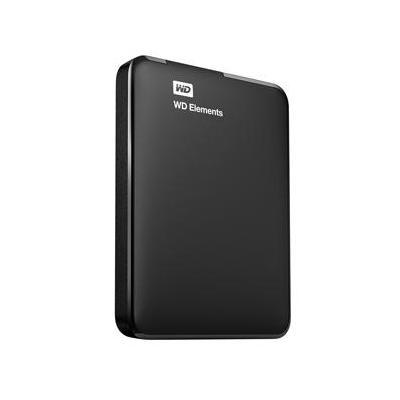 Western digital externe harde schijf: 1.5TB Elements - Zwart
