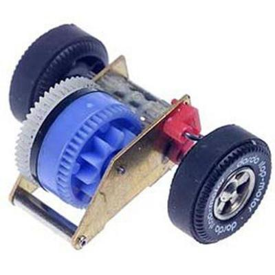 Darda toy part: Stop&Go motor - Multi kleuren
