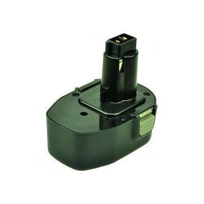 2-power batterij: PTH0125A - NiMH, 14.4V, 2000mAh, 570g, green - Groen