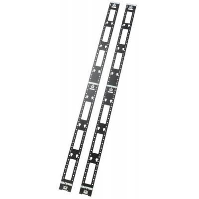 Apc rack: Vertical Cable Organizer AR7502 - Zwart