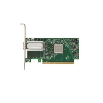 Dell netwerkkaart: Mellanox ConnectX-4 1 poort, EDR, VPI QSFP28 Full-Height Network Adapter, klanten kit
