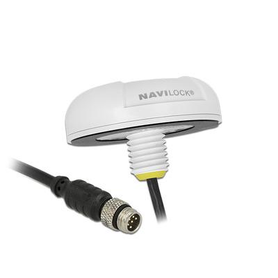 Navilock NL-3332 M8 Serial Multi GNSS Receiver MT3333 0.5 m GPS ontvanger module - Wit